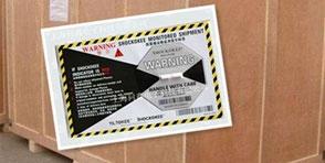 防震标签广泛应用于多种行业精密仪器中