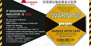 ShockWatch推出单独使用的计时温度指示器